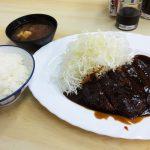 とんかついわたの味噌カツ定食 @西枇杷島