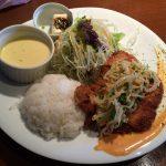 洋食家 KITCHEN PIGLETのミルフィーユカツinチーズ ナムル乗せランチ @東区東片端
