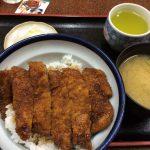 のむら屋食堂のソースかつ丼 @福井県勝山市