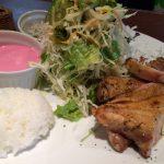 洋食家 KITCHEN PIGLETのチキンの岩塩焼きマッシュポテト添えランチ @東区東片端