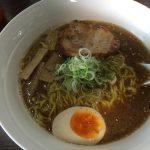 あさひ屋のWスープ醤油ラーメン @北名古屋市師勝