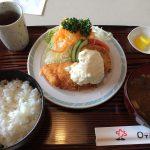 しらかばの魚フライ定食【2】 @西枇杷島