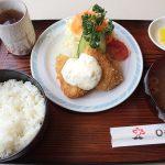 昭和な喫茶店のコスパ最高ランチ!「しらかば」の魚フライ定食 @西枇杷島