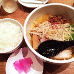 美杏の汁なし担々麺と小ライス @美和