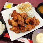 とんきちmozoワンダーシティ店のから揚げマウンテン定食  @上小田井