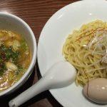 濃厚なつけ汁はクセになるかも!「RAMEN 風見鶏 本店」の特製風見鶏つけ麺 @稲沢