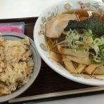 むつみやのラーメンと五目ご飯ランチ @下小田井