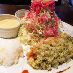洋食家 KITCHEN PIGLETの鶏胸肉のコートレット キャベツスイートチリタルタルランチ @東区東片端