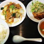 近所に欲しいお店!「蒼天」の肉野菜炒めと唐揚げランチ @中小田井