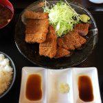 牛カツ専門店縁の縁定食 @甚目寺