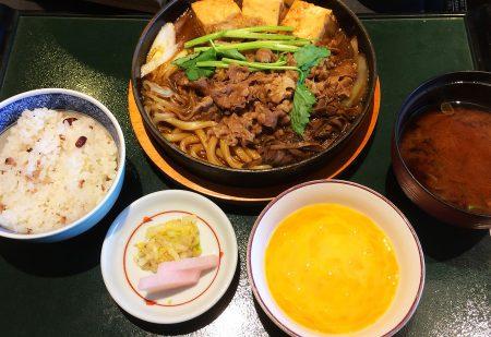 「木曽路 畑江通店」のすきやき定食 @岩塚