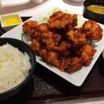 「とんきちmozoワンダーシティ店」のから揚げマウンテン定食  @西区上小田井