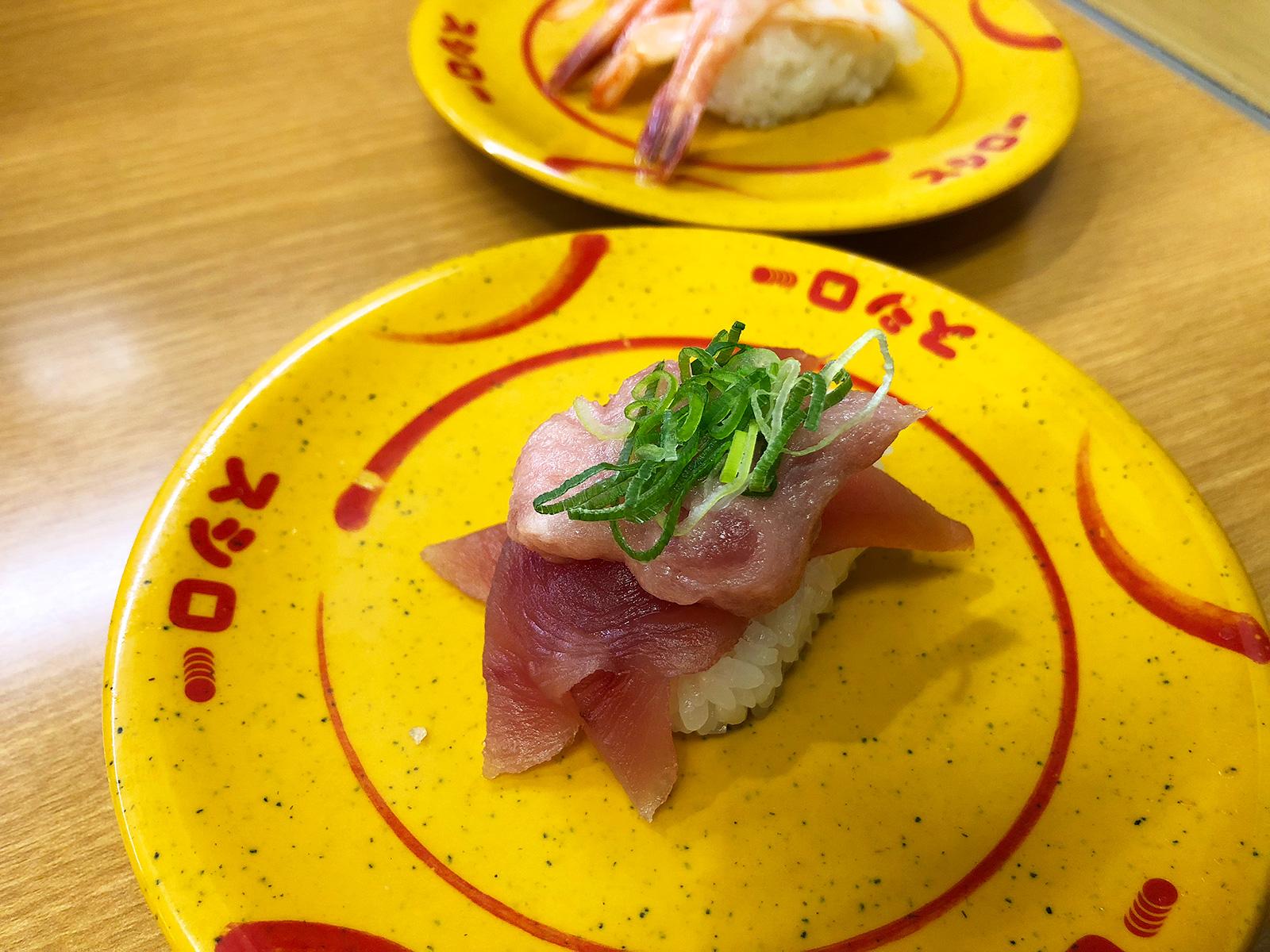 「スシロー清須古城店」のでかネタまつり お昼の部 @西枇杷島