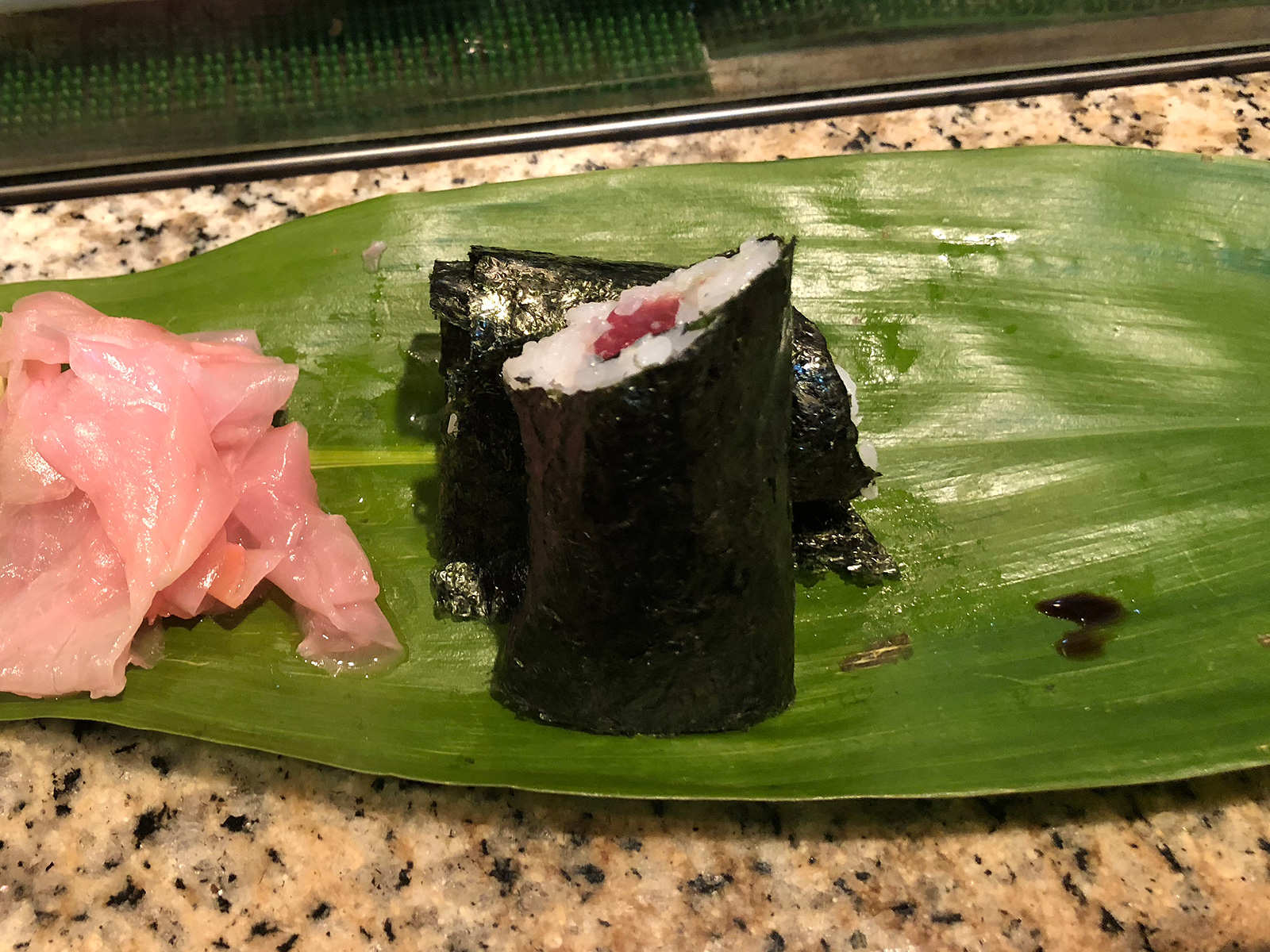 「すし 松前」のおまかせコースと牡蠣鍋 @栄生