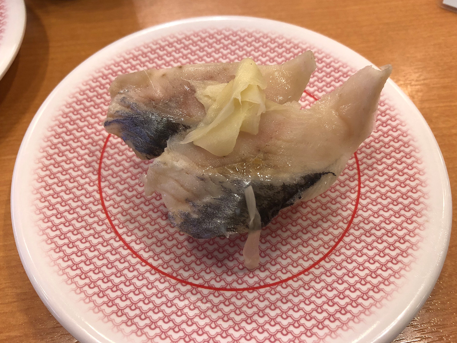 「かっぱ寿司 甚目寺店」の貝の塩白湯ラーメンとお寿司 @甚目寺
