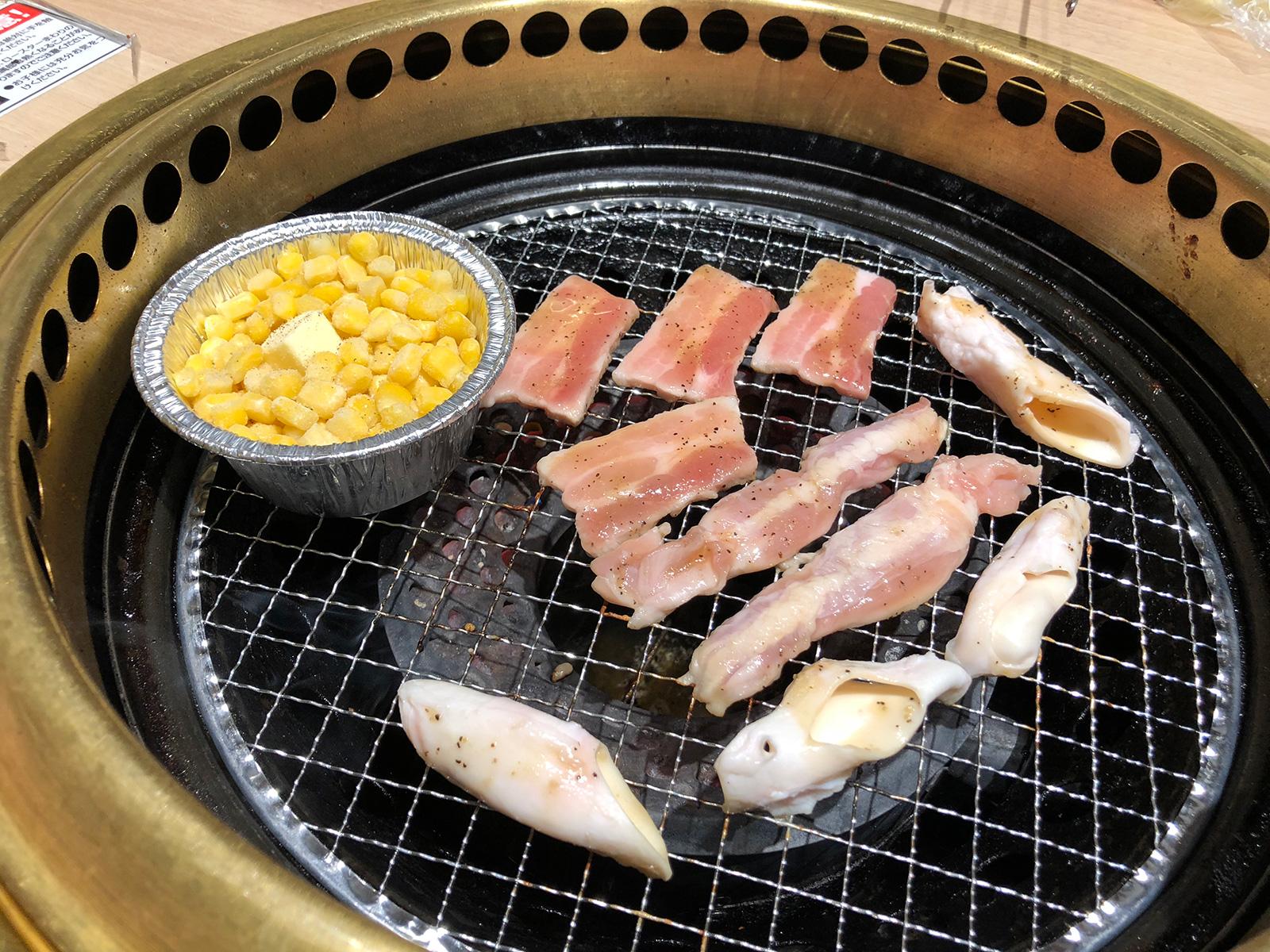 「がんこ炎 清須店」の焼肉食べ放題コース @新川