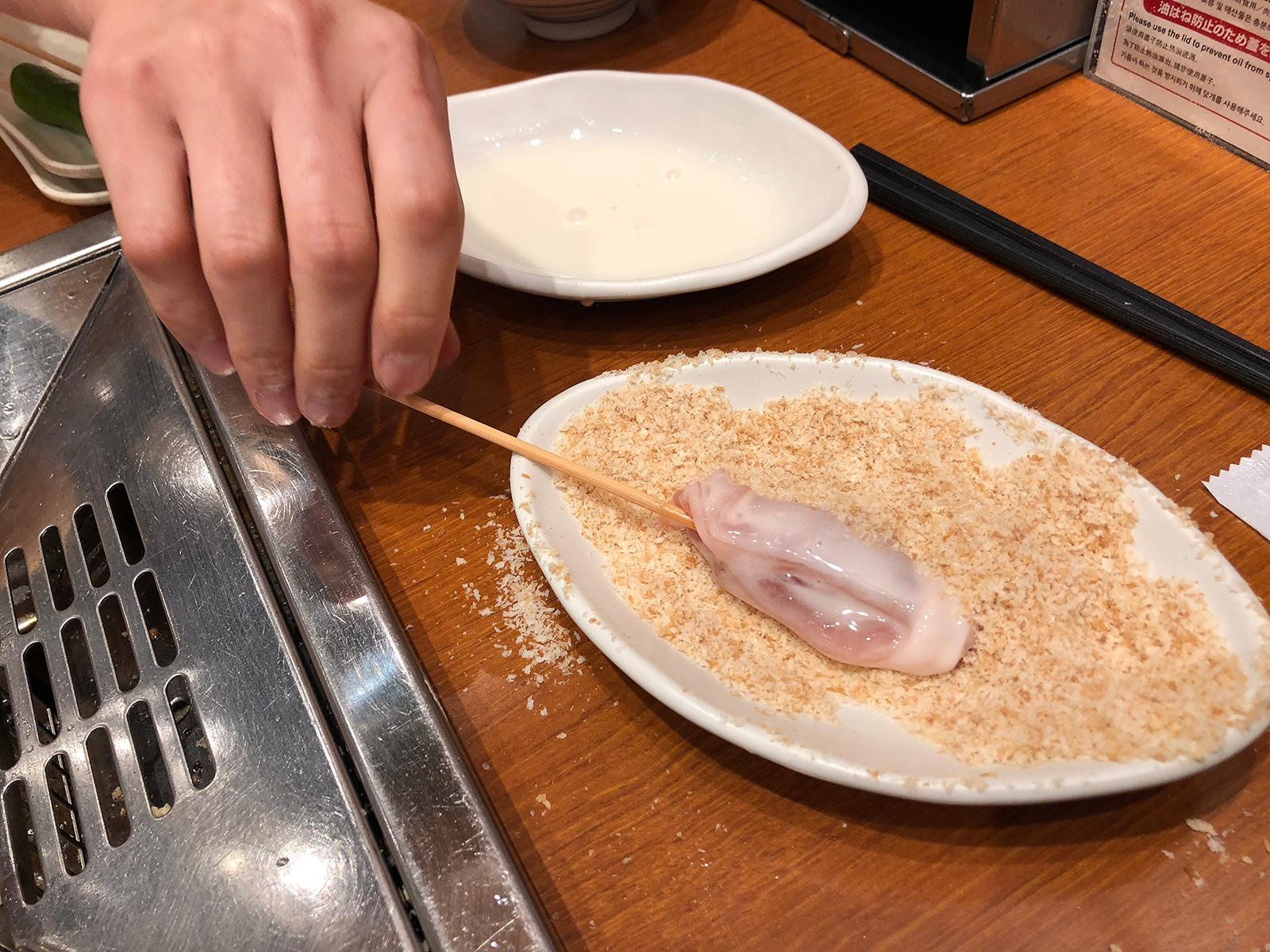 「串家物語 mozo wondercity店」の串揚げ食べ放題 @上小田井
