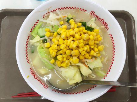 「スガキヤ西枇杷島フランテ店」のでら盛野菜ラーメン @下小田井