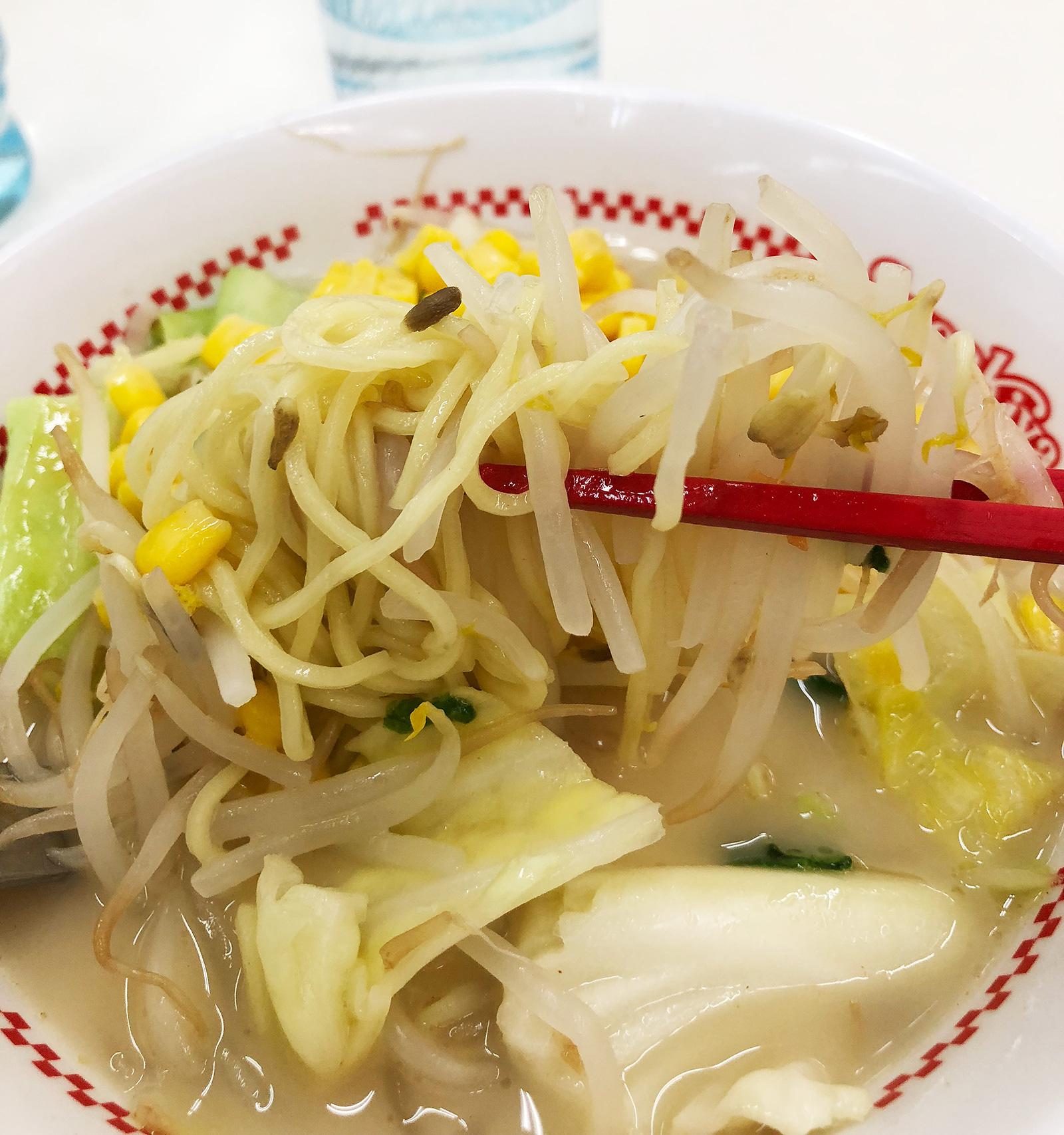 「スガキヤ西枇杷島フランテ店」のでら盛野菜ラーメン @清須市下小田井