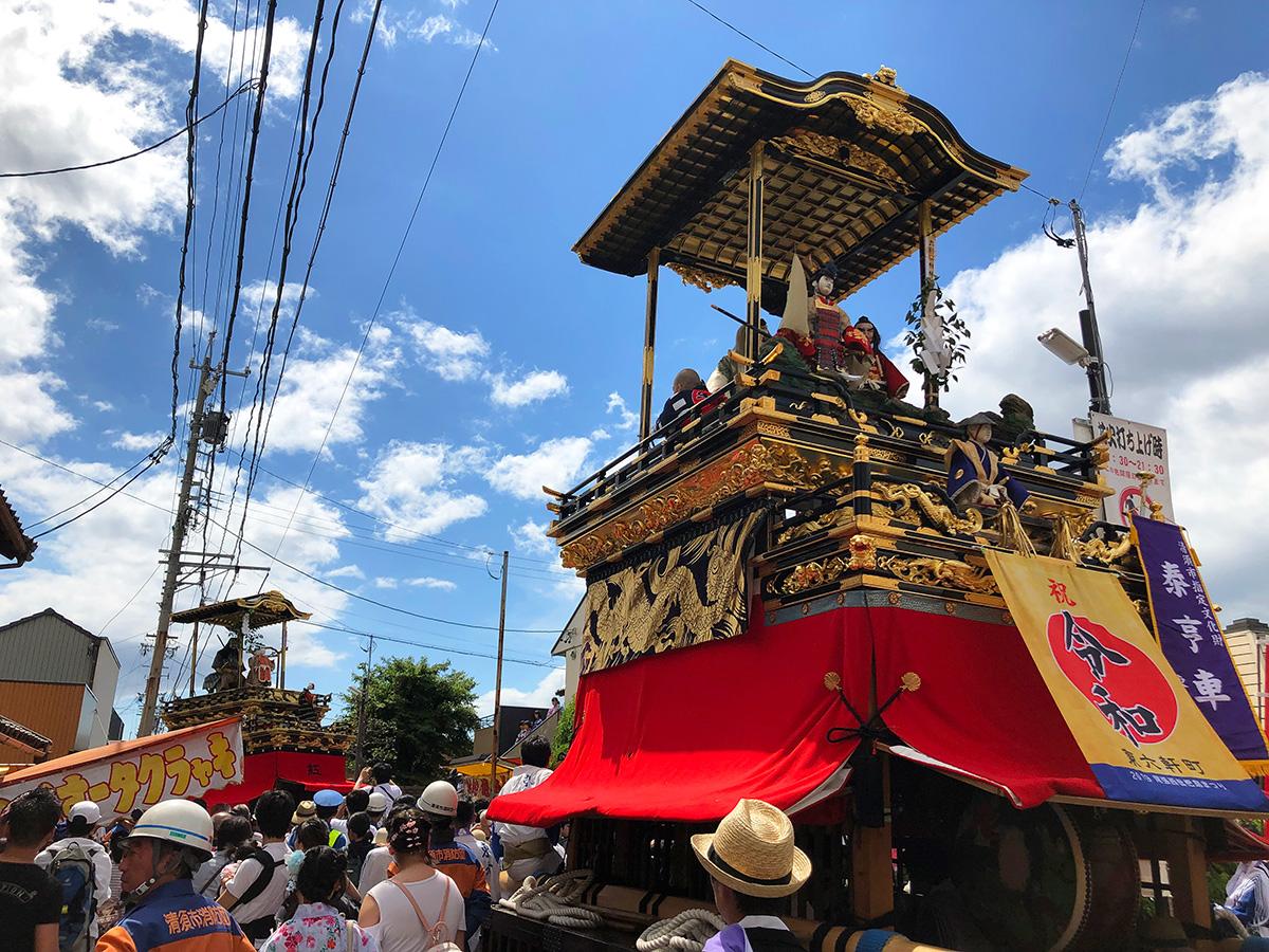 「バー ローカル駅」のキューバリバーと西批杷島祭り @清須市西枇杷島
