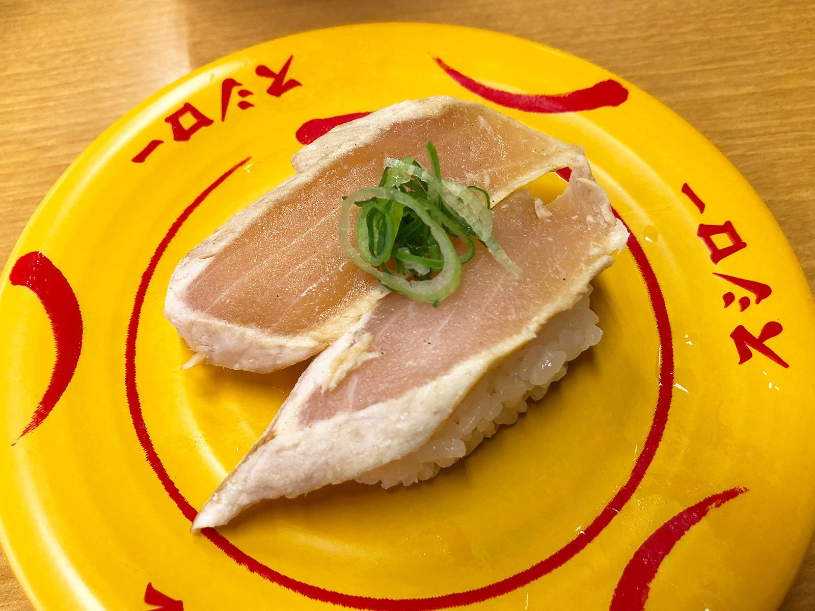 「スシロー清須古城店」のメカジキの漬けとお寿司いろいろ @西枇杷島