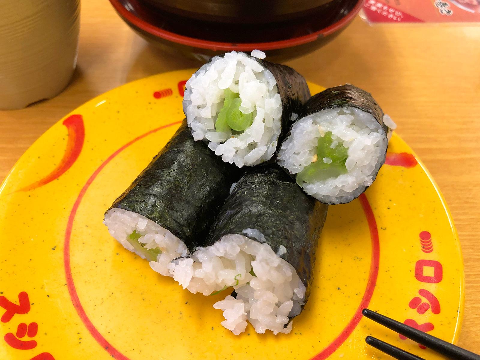 「スシロー清須古城店」のアボカド天ぷら寿司とかいろいろ @清須市西枇杷島