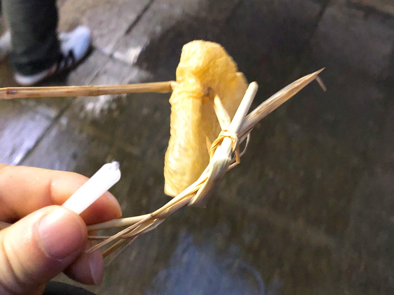 「伊藤商店」のたい焼き @お千代保稲荷