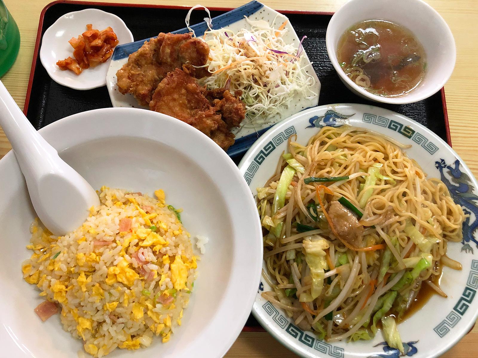 「台湾料理 大安」の大安定食 @清須市下小田井
