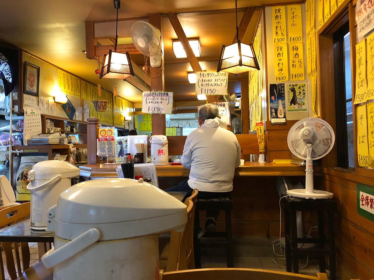 「レストラン角家」のオムライス @西区浄心