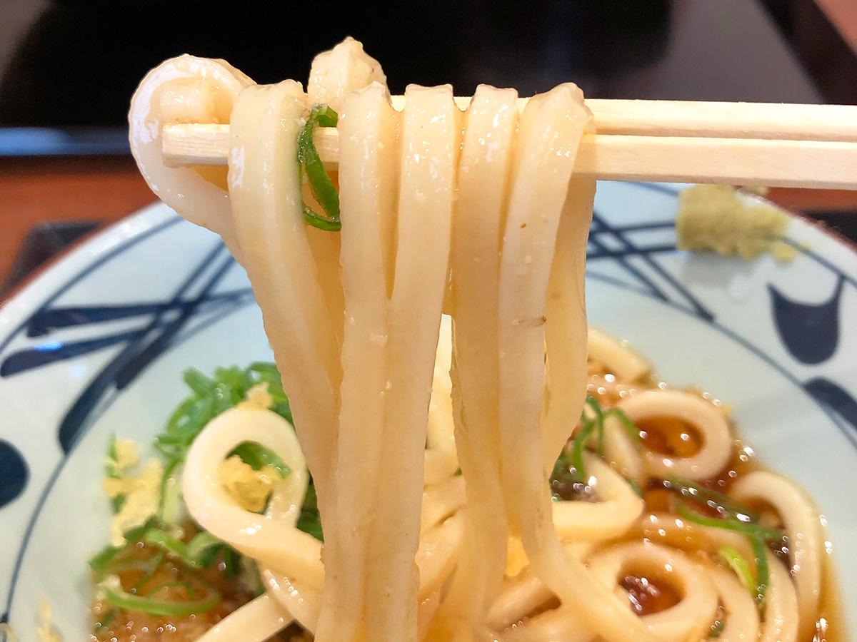 「 丸亀製麺 北名古屋店」のぶっかけうどんとかき揚げ @北名古屋市西春