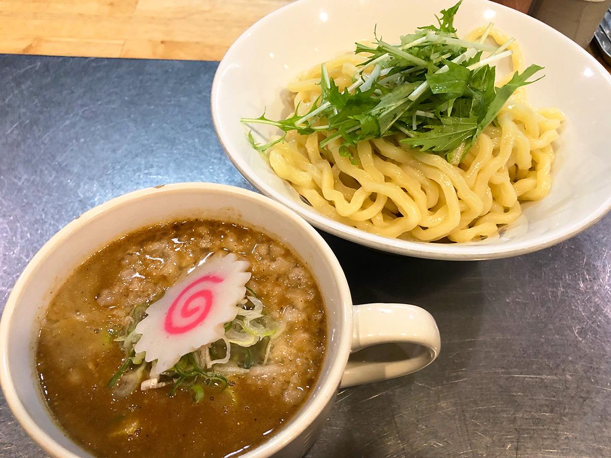 「R」のつけ麺 @名古屋市中村区竹橋町