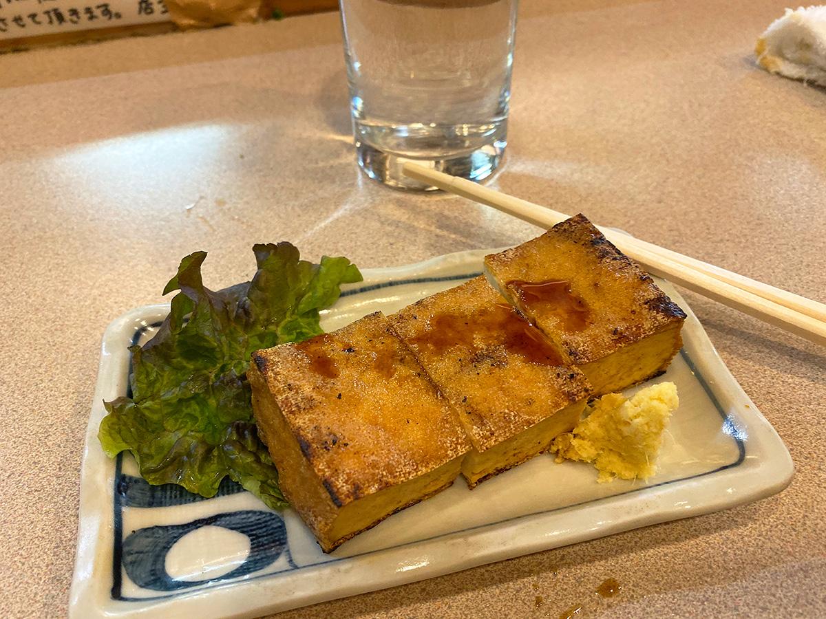 「歓酒亭 大安」のマッシュルームチーズフライ @名古屋市中区金山