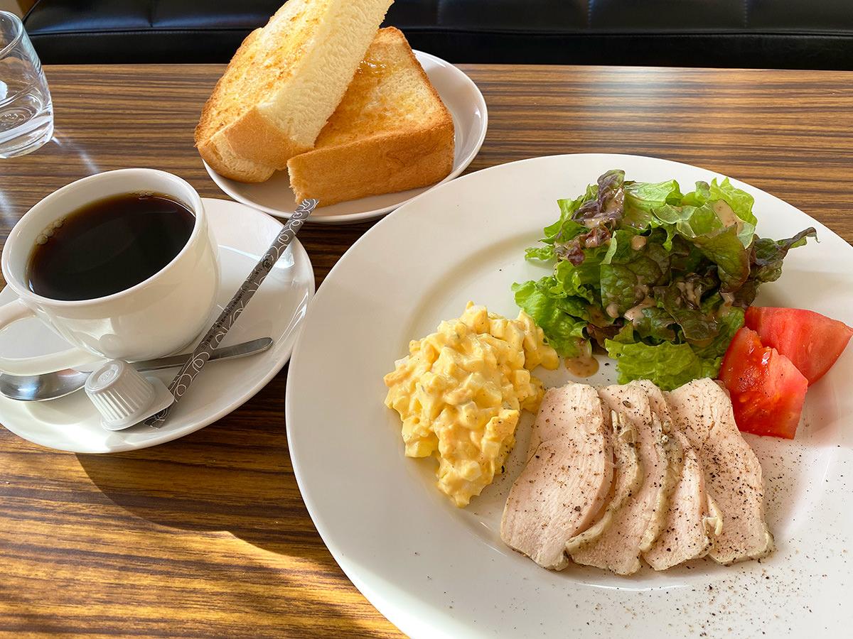 「カルフールカフェ」の日曜モーニングが噂通りゴイゴイスー @清須市下小田井