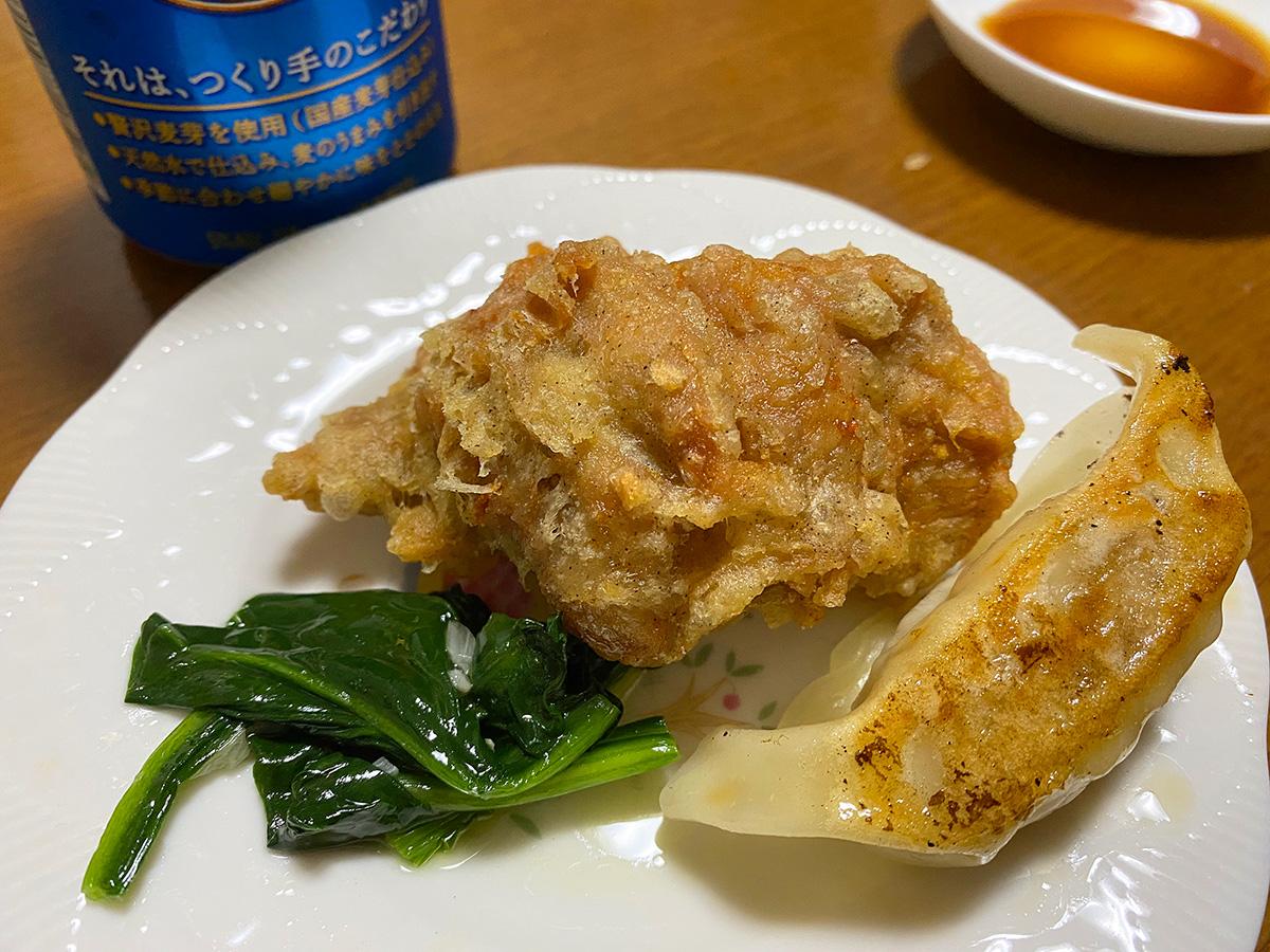 「台湾料理 大安」の唐揚げと焼き餃子などをお持ち帰り! @清須市下小田井