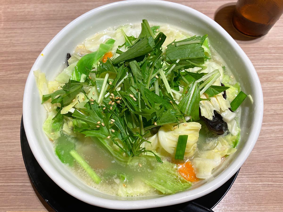 「らーめん一刻魁堂清須店」の塩野菜タンメン @清須市清洲