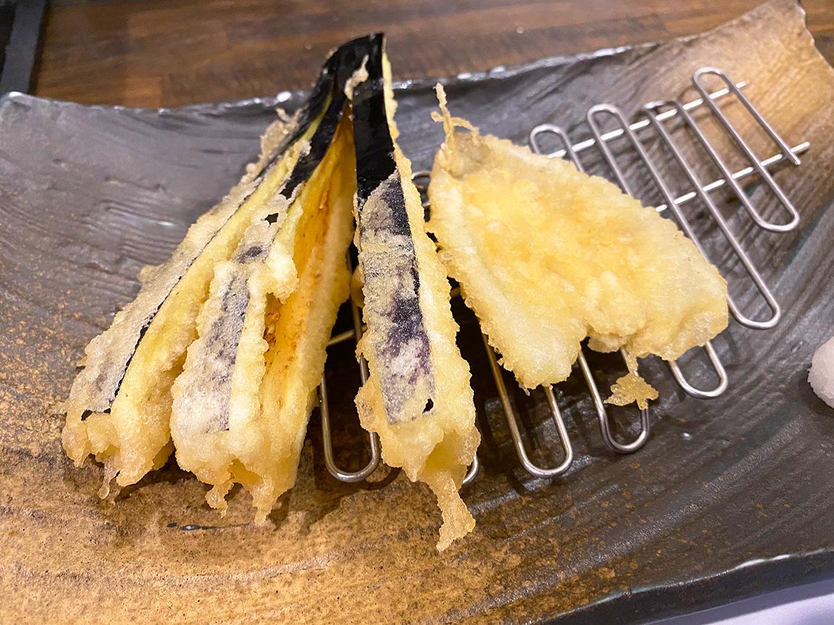 「天ぷらやげんろく」のげんろく定食 @名古屋市北区上飯田