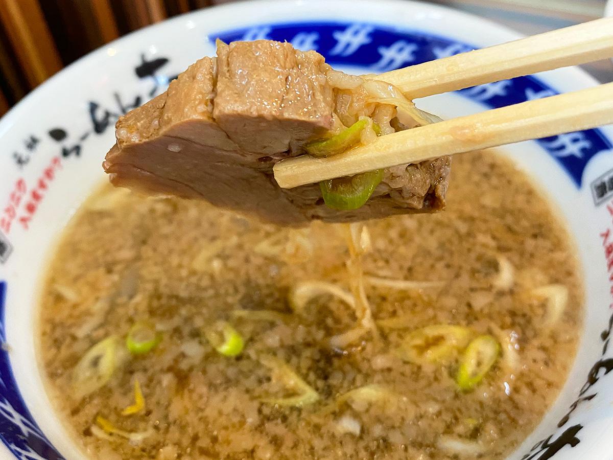 「らーめん大 一宮店」のつけ麺 @一宮市