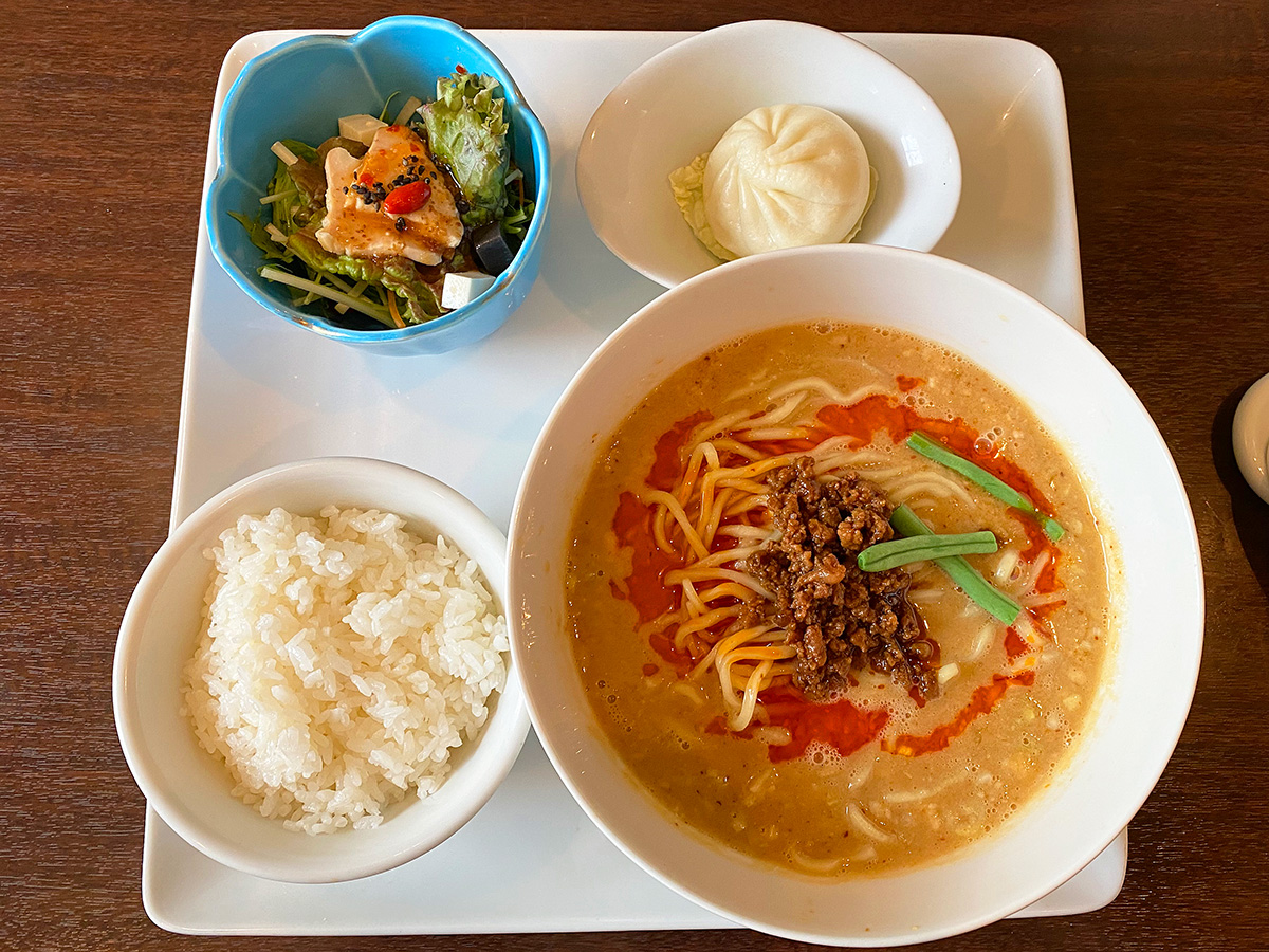 「CUISINE China 凛」の担々麺ランチ @北名古屋市