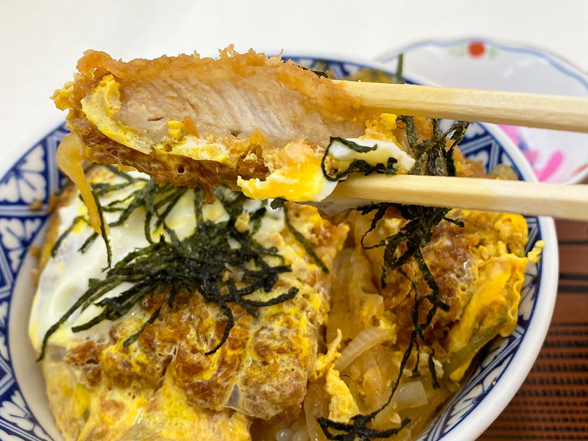 「むつみや」のカツ丼 @清須市下小田井