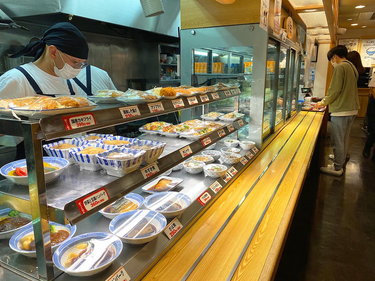 「名古屋黒川食堂」のブリの照り焼きと出し巻き卵と色々 @名古屋市北区上飯田