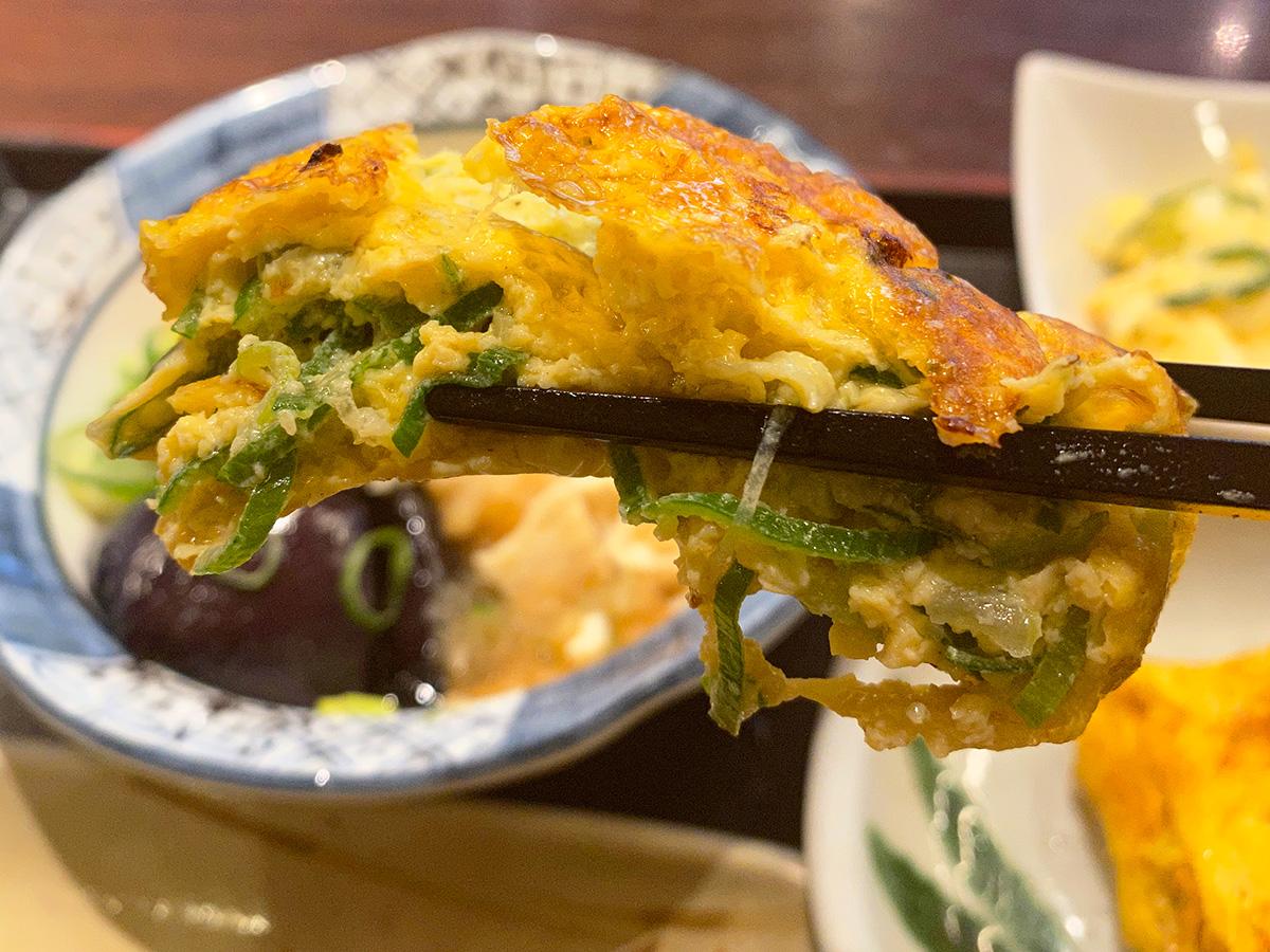 「ザ・めしや 康生通店」のネギ玉焼きと揚げ出し豆腐と色々 @名古屋市西区康生通