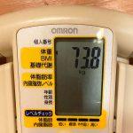 アラフォーおじさんの糖質制限ダイエット 【73.8kg】