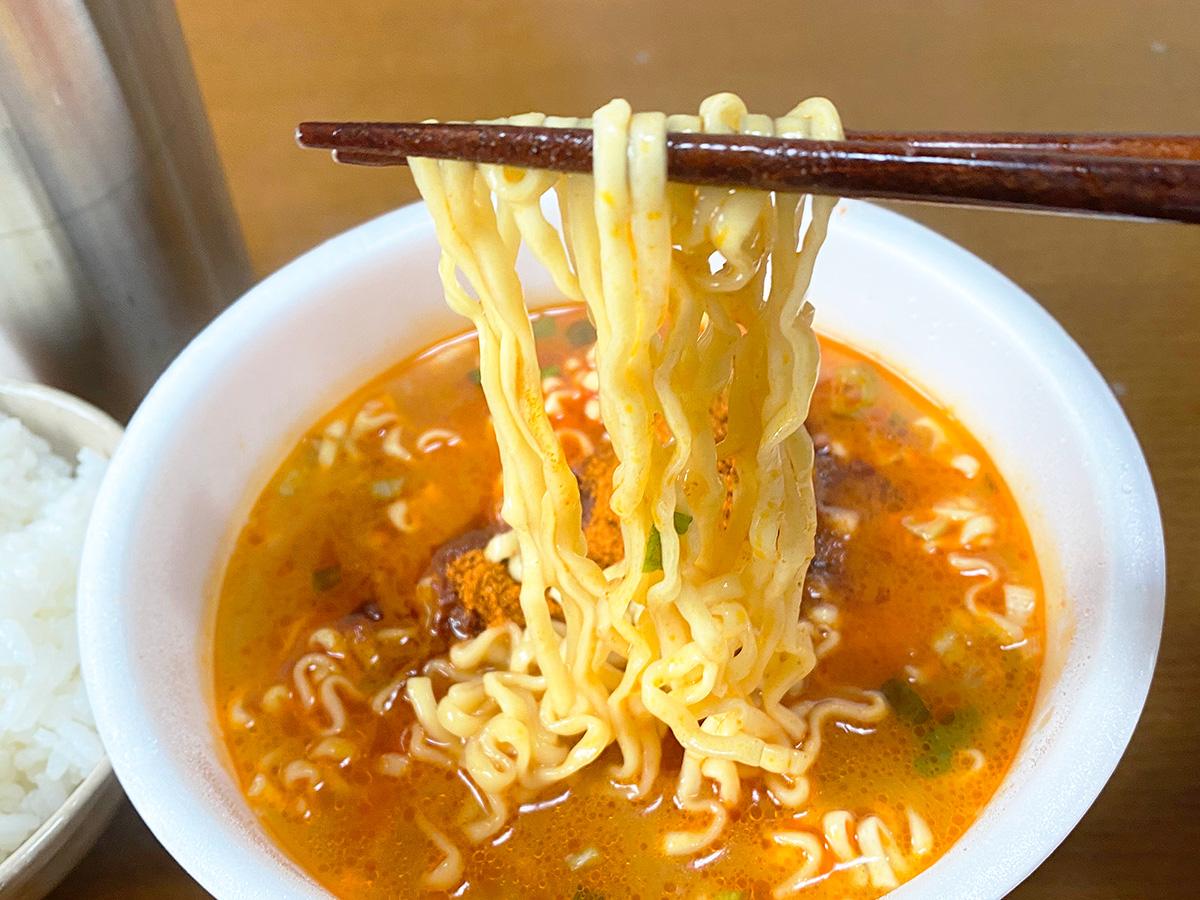 噂の限定カップ麺「寿がきや 麺処井の庄監修 辛辛魚」を食べてみた!