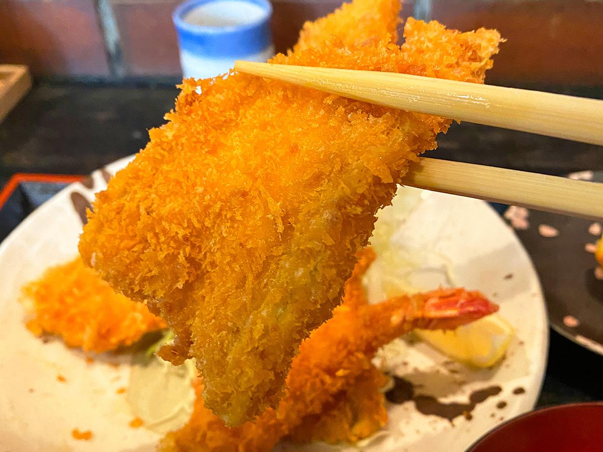 「串よし」の魚ミックスフライ定食 @名古屋市西区浄心