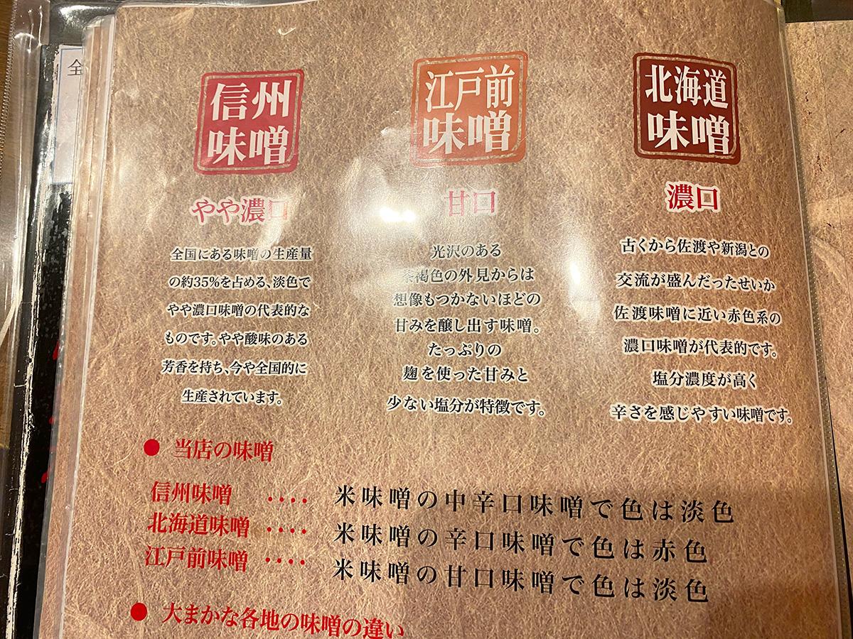 「蔵出し味噌 一六 津島店」の江戸前味噌肉ネギらーめん @津島市
