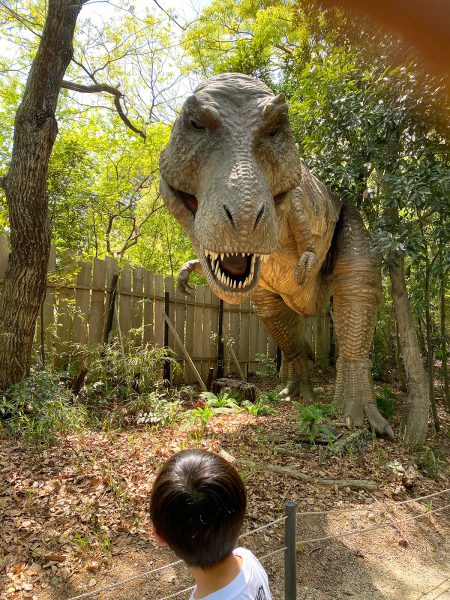 大高緑地にある恐竜体験テーマパーク「ディノアドベンチャー」