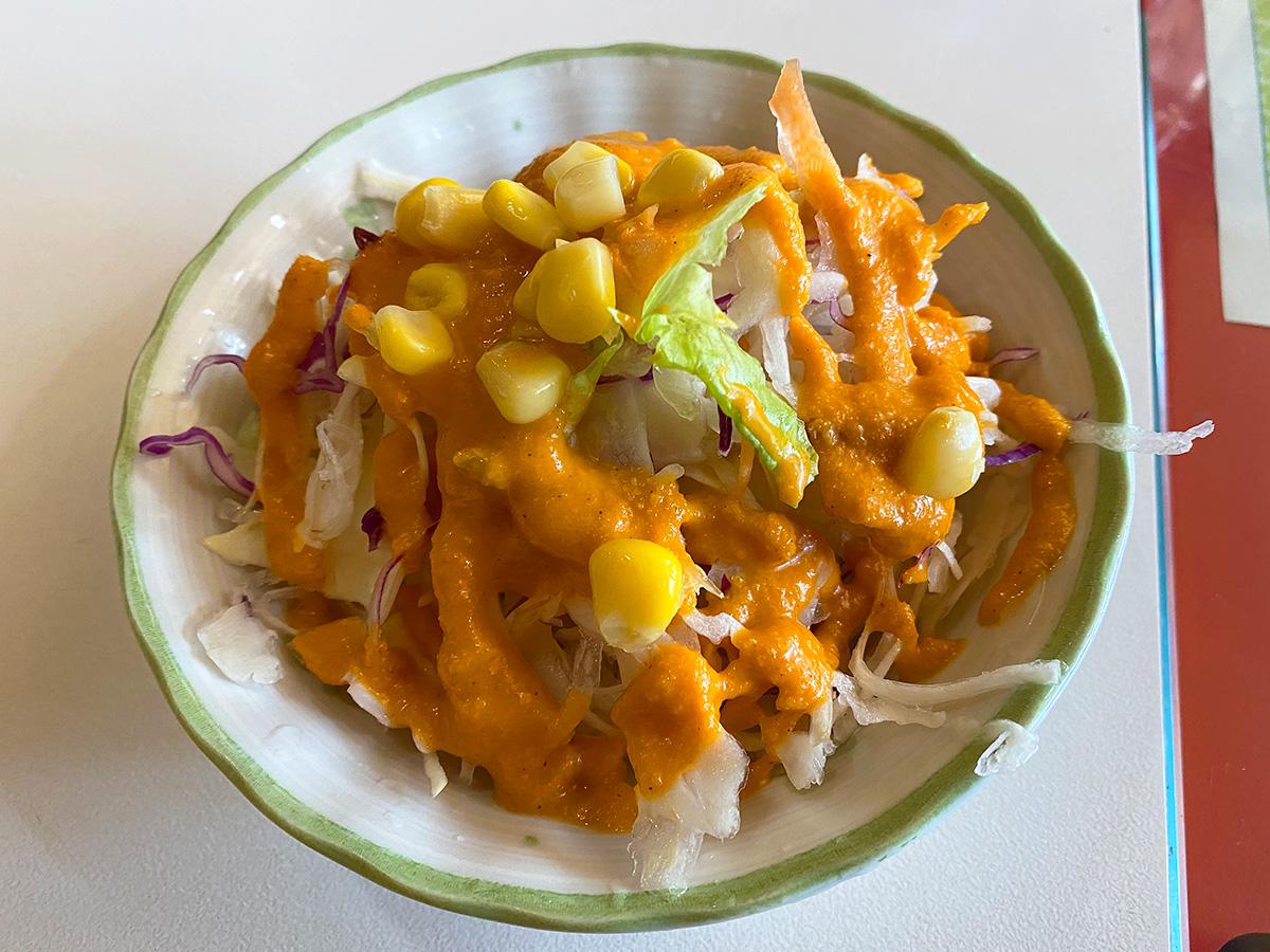 「インド・ネパール料理 バンチャガル」の筍とチキンのカレー @清須市春日