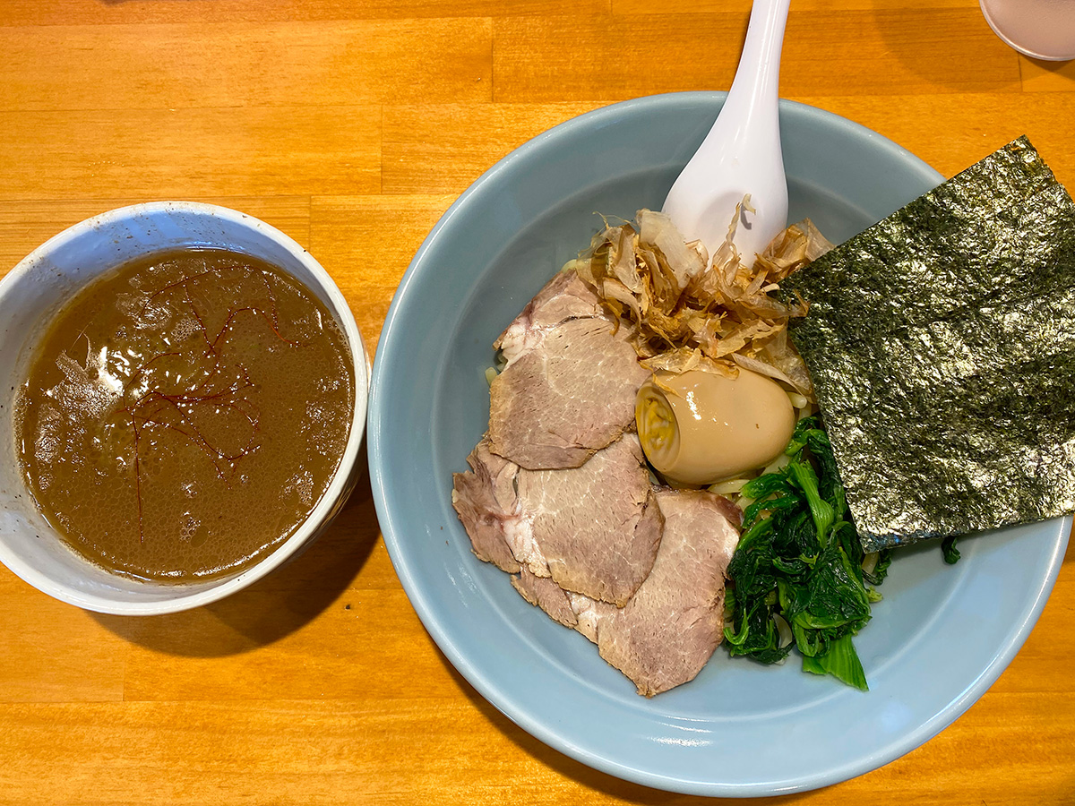 「横浜家系ラーメン平田屋」のつけ麺 @名古屋市西区上小田井